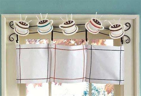Country Kitchen Canisters by Modelos De Cortinas Para Tu Cocina 161 Escoge Tu Favorito