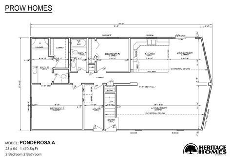Prow House Plans by Ponderosa A Modularhomes