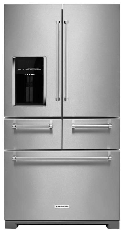 buy door refrigerator kitchenaid 25 8 cu ft 5 door door refrigerator