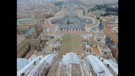 basilica di san pietro cupola roma citt 224 vaticano panorama dalla cupola della