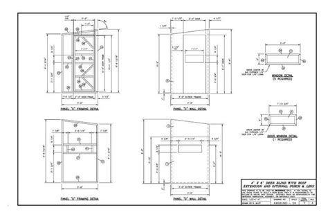 4x6 shooting house plans please critic my 4x6 deer blind layout plans will follow later blinds feeders