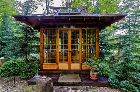 garden tea house cool japanese garden plans