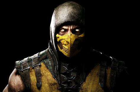 wallpaper scorpion mortal kombat  pc games xbox