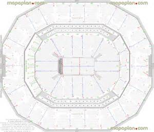 Kfc Yum Center Floor Plan Kfc Yum Center Detailed Seat Amp Row Numbers End Stage