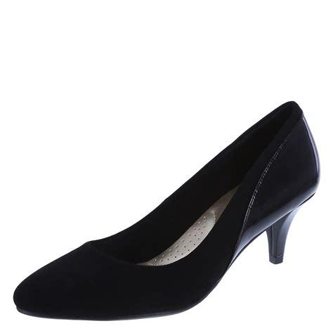 womens comfort pumps womens karlotta low heel pump dexflex comfort payless