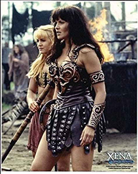 xena warrior princess amazon xena warrior princess lucy lawless renee o connor photo