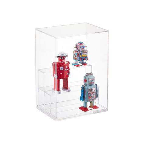 display small small modular acrylic premium display the container