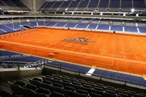 colored football fields the orange field utsa sports