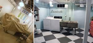 Inexpensive Bathroom Makeovers Before And After Before After Basement Remodeling