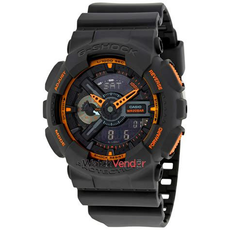 G Shock G Mix Grey casio g shock grey and orange resin mens ga110ts 1a4