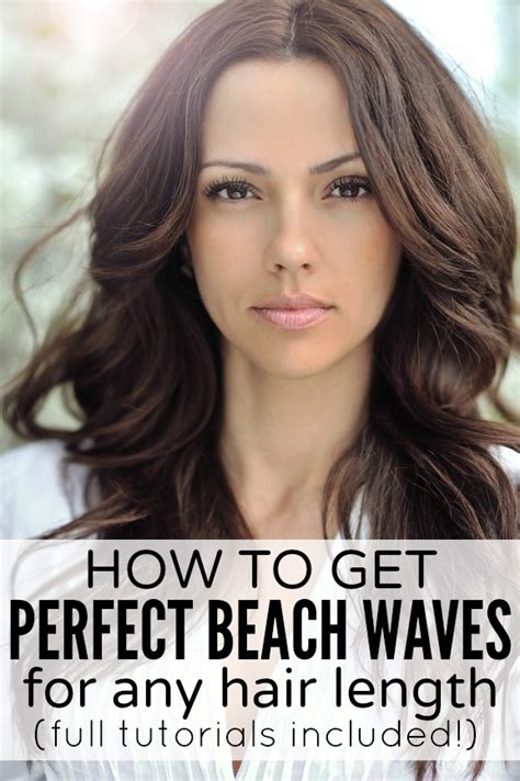 how to get beachy waves on shoulder lenght hair beachy waves medium length hair images