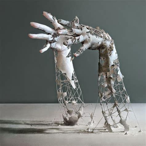 home sculptures design dautore sculptures of decomposing parts by yuichi ikehata