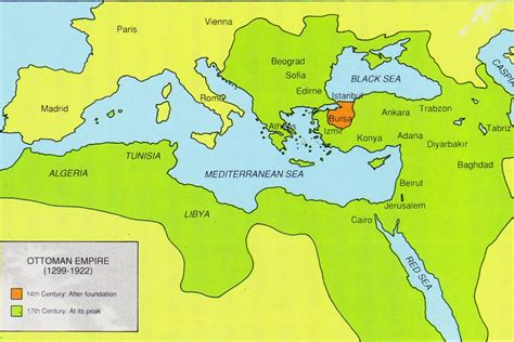 what countries were in the ottoman empire breakup of the ottoman empire and the french and english