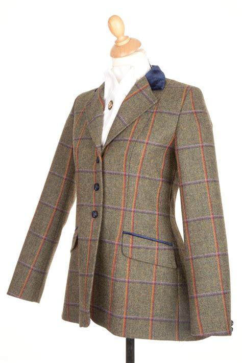 Jaket Ridding tweed jackets childrens show jackets