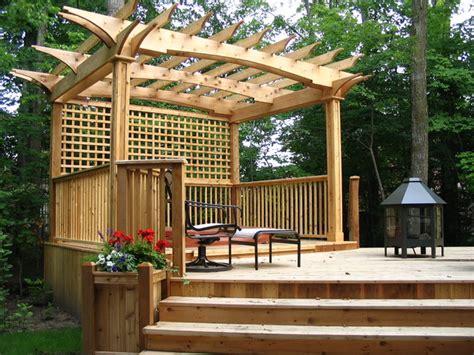 Deck Gardens by Garden Decks Patio Toronto By Jws Woodworking And