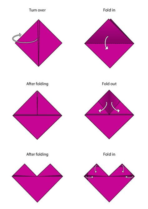 Simple Origami Pdf - easy origami directions comot