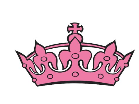 pink princess crown clipart best