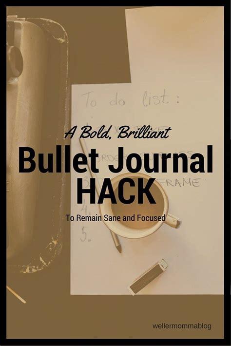 bullet journal hacks a bold brilliant bullet journal hack homeschool the
