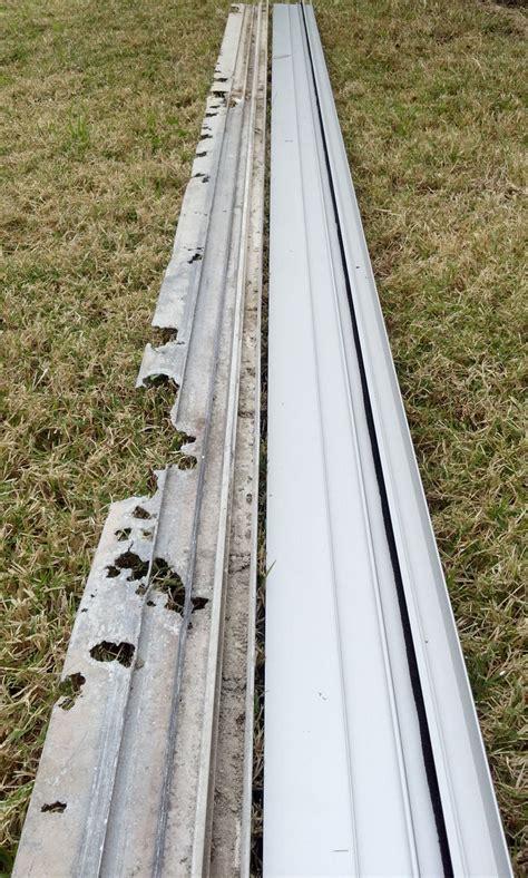 sliding screen door vinyl sliding screen door track
