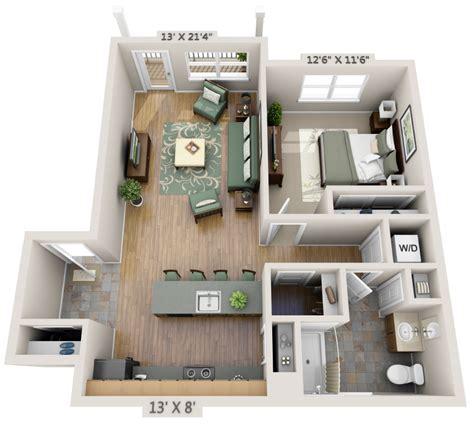 one bedroom study 3d floor plan net zero village one bedroom study 3d floor plan net zero village