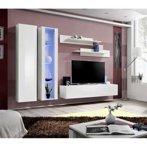 Salon Tv Moderne by Meuble De Salon Tv Suspendu Flix A4 Moderne 260 Cm Blanc