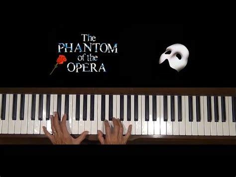 Piano Tutorial Phantom Of The Opera | music of the night phantom of the opera piano tutorial