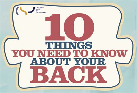 10 Things You Need To About Your Toddler by 10 Things You Need To About Your Back Gophysio