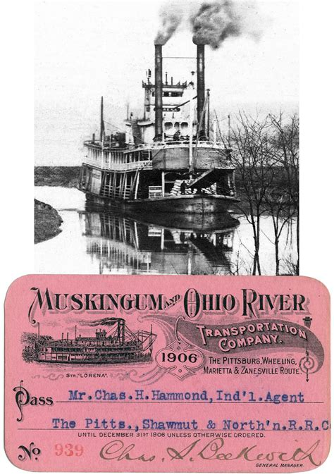 steamboat zanesville ohio steamboats online museum dave thomson wing