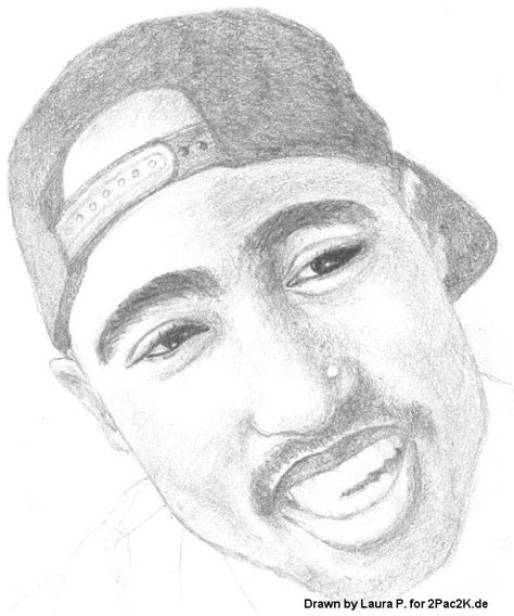 Drawing 2pac by Drawing Tupac Quotes Quotesgram
