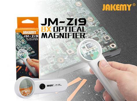 Jakemy Kaca Pembesar 8x Jm Z19 jakemy kaca pembesar 8x jm z19 white jakartanotebook
