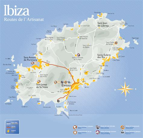 0004488962 carte touristique ibiza and carte ibiza voyages cartes