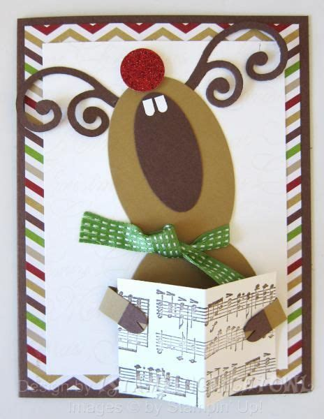 reindeer cards to make best 25 cards ideas on