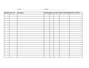 Blank Excel Sheet by 6 Best Images Of Free Printable Blank Spreadsheet