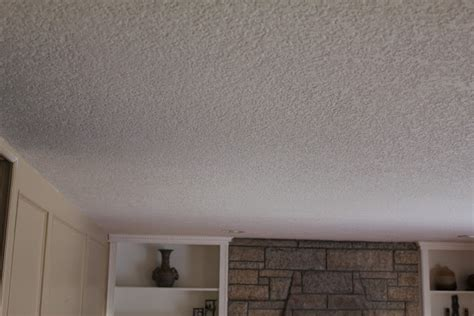 how to apply textured ceiling paint popcorn texture removal knockdown application step 6