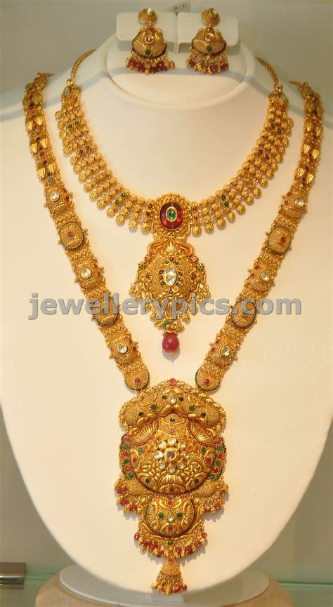 gold haram khazana gold haram necklace designs
