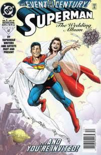 superman wedding album transforming seminarian the end of superman s marriage