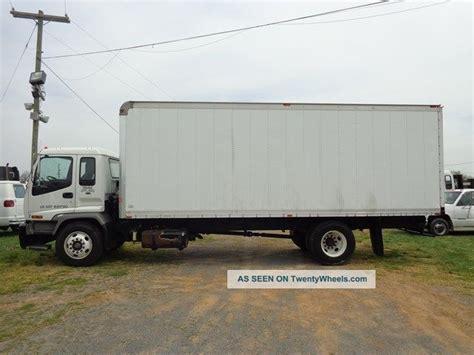 2007 isuzu fvr 24ft box truck turbo diesel