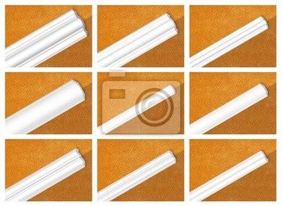 deckenleisten styropor fototapete dekorative profil aus polystyrol deckenleisten