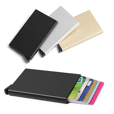 Murah Card Id Holder Credit Card Holder Metal Business Id Credit Card Holder Thin Wallets Pocket