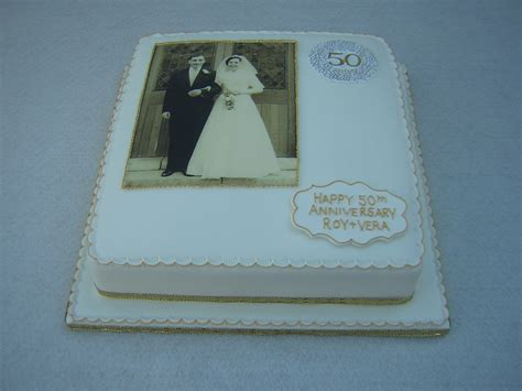 50th Wedding Anniversary Cakes by Anniversary Cakes Julie S Creative Cakesjulie S Creative
