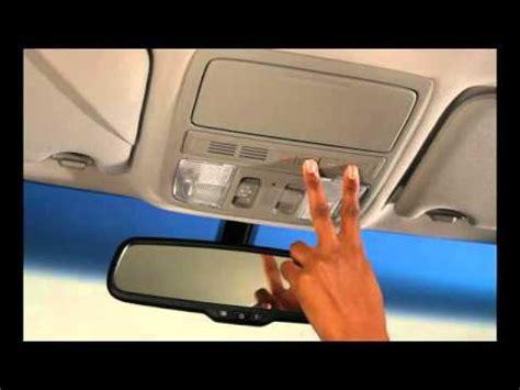 Honda Homelink by Overhead Homelink 2011 Honda Accord