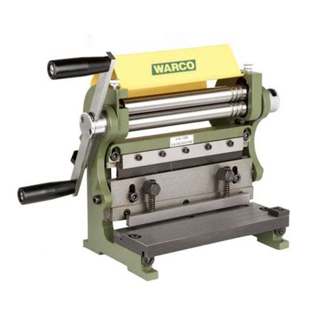 Set Fash 3in1 1 warco mini formit 3 in 1 sheet metal machine bender shear roller