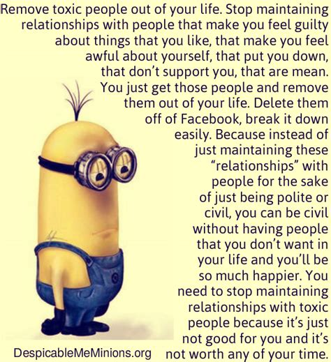 Things That Dont Get About by Remove Toxic Out Of Your Minion Quotes