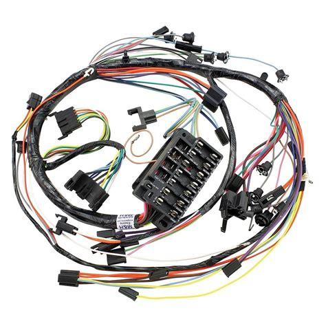 opgi 174 chevy chevelle 1967 dash wiring harness