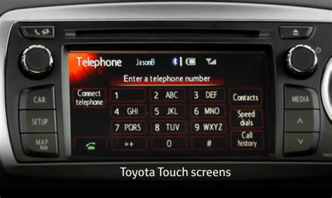 Toyota Touch Apps How To Use The Toyota Touch And Touch Go Multimedia