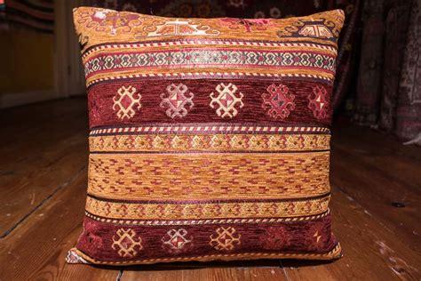 ottoman cushion covers turkish small sand stripe ottoman cushion cover