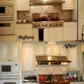 Refinishing Laminate Kitchen Cabinets by Kitchens Starlily Design Studio