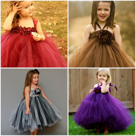 Dress Tutu Girly weddings the joys and jitters sweet flower tutu dresses