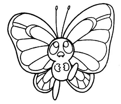 pokemon coloring pages butterfree 40 unique pok 233 mon coloring pages to print