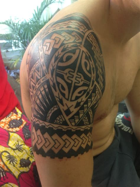 polynesian shoulder tattoo polynesian tattoos designs ideas and meaning tattoos